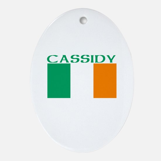 Cassidy Oval Ornament