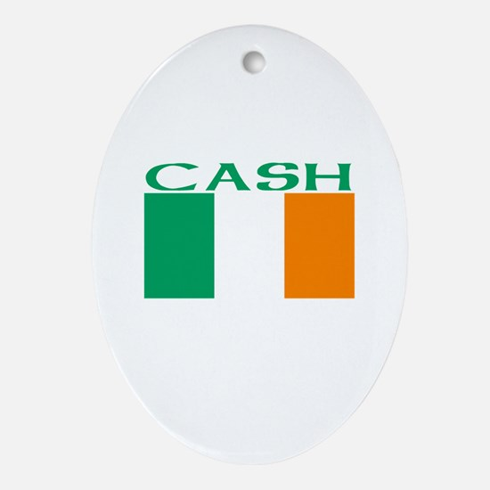Cash Oval Ornament