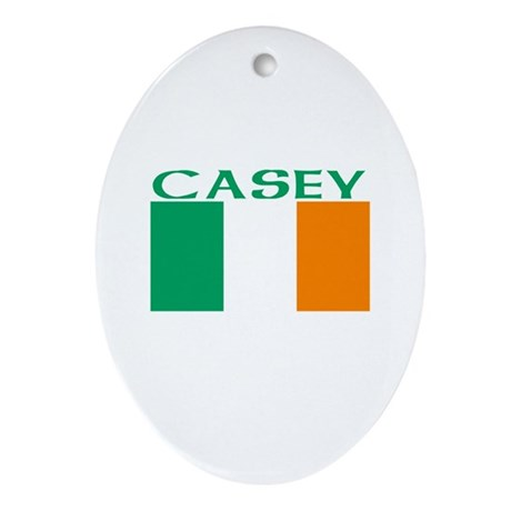 Casey Oval Ornament