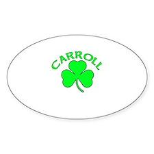 Carroll Oval Decal