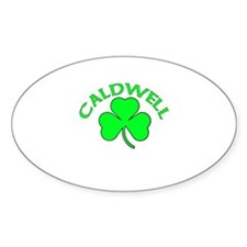 Caldwell Oval Decal