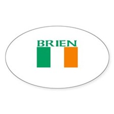 Brien Oval Decal
