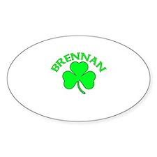 Brennan Oval Decal