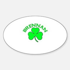 Brennan Oval Decal