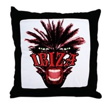Ibiza Club Throw Pillow