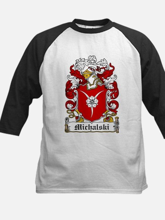 Michalski Family Crest Baseball Jersey