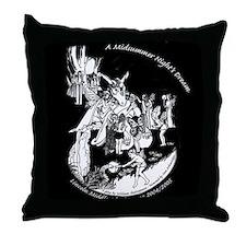 Midsummer Night's Drama Throw Pillow