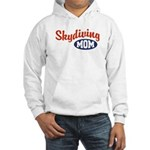Skydiving Mom Hooded Sweatshirt