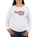 Skydiving Mom Women's Long Sleeve T-Shirt