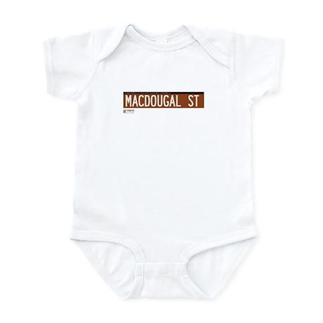 Macdougal Street in NY Infant Bodysuit
