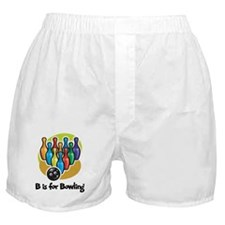 B is for Bowling Boxer Shorts