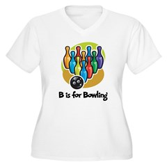 B is for Bowling T-Shirt