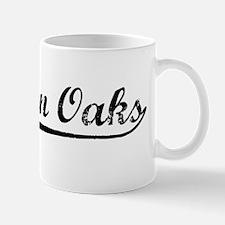 Vintage Sherman Oaks (Black) Mug