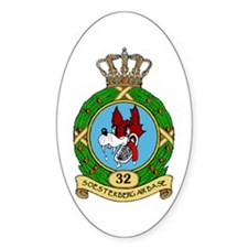 Soesterberg Air Base Oval Decal