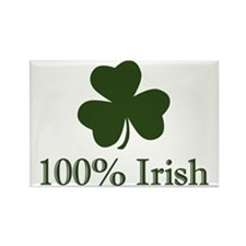 Cute 100 irish Rectangle Magnet
