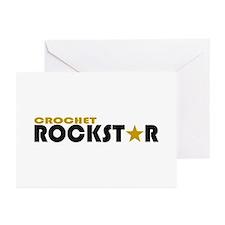 Crochet Rockstar 2 Greeting Cards (Pk of 10)