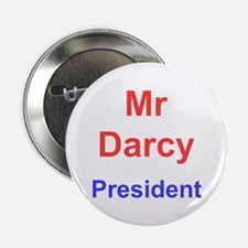 "Vote Mr Darcy 2.25"" Button"