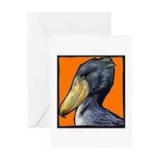 Shoebill Greeting Card