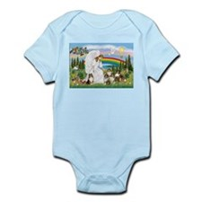 Angel & Five Shelties Infant Bodysuit