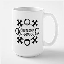 Kisses & Hugs Shetland Mug