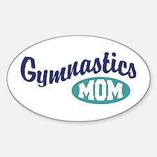 Gymnastics Mom Oval Decal