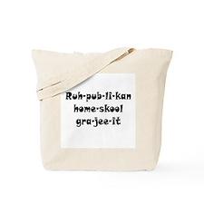 Republikan Home Skool Grajeei Tote Bag