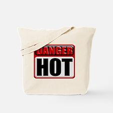 DANGER: HOT! Tote Bag
