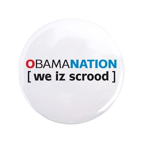 "Obamanation 3.5"" Button"