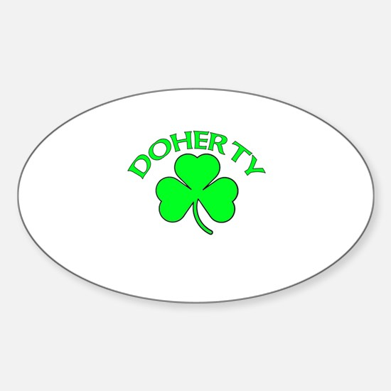 Doherty Oval Decal