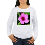 Glorious Violet Wood Sorrel Women's Long Sleeve T-