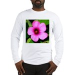 Glorious Violet Wood Sorrel Long Sleeve T-Shirt