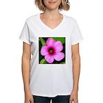 Glorious Violet Wood Sorrel Women's V-Neck T-Shirt