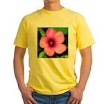 Glorious Violet Wood Sorrel Yellow T-Shirt