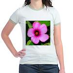 Glorious Violet Wood Sorrel Jr. Ringer T-Shirt