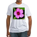 Glorious Violet Wood Sorrel Fitted T-Shirt