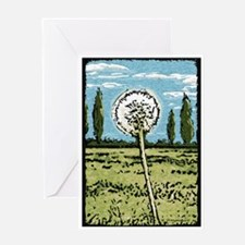 Dandelion Blank Greeting Card