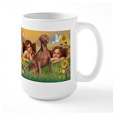 Angels & Weimaraner Mug