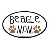 Beagle sticker Stickers