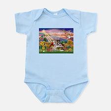 Autumn Angel / Whippet Infant Bodysuit