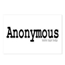 Anonymous Postcards (Package of 8)