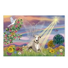 Cloud Angel & Whippet Postcards (Package of 8)