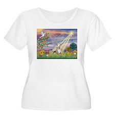 Cloud Angel & Whippet T-Shirt