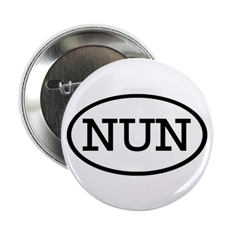 """NUN Oval 2.25"""" Button (10 pack)"""