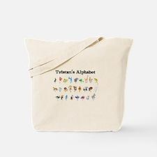 Tristan's Animal Alphabet Tote Bag