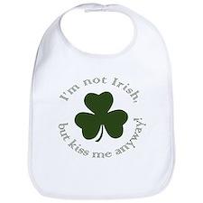 Funny Kiss me i'm irish Bib