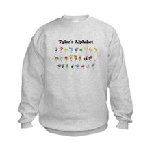 Tyler's Animal Alphabet Sweatshirt