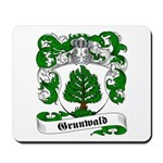 Grunwald Family Crest Mousepad