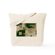 Massage Quilt Tote Bag