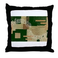 Massage Quilt Throw Pillow