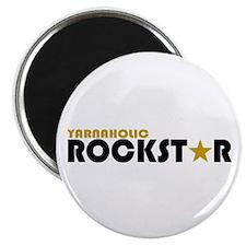Yarnaholic Rockstar 2 Magnet